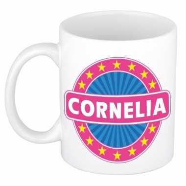 Naamartikelen cornelia mok / beker keramiek 300 ml