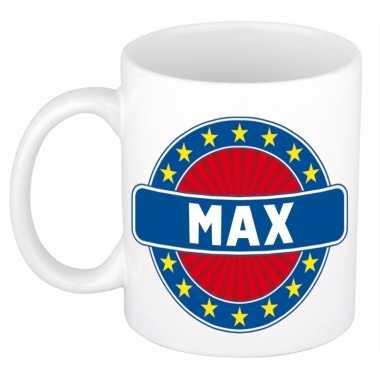 Naamartikelen max mok / beker keramiek 300 ml