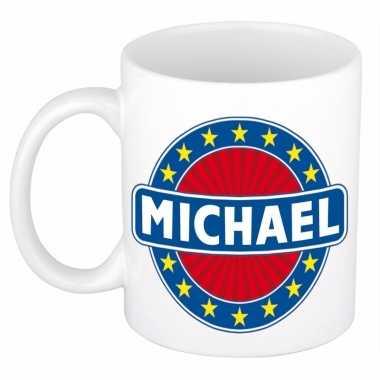 Naamartikelen michael mok / beker keramiek 300 ml