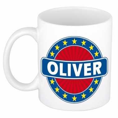 Naamartikelen oliver mok / beker keramiek 300 ml