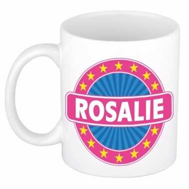 Naamartikelen rosalie mok / beker keramiek 300 ml