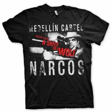 Narcos medellin cartel kleding heren shirt