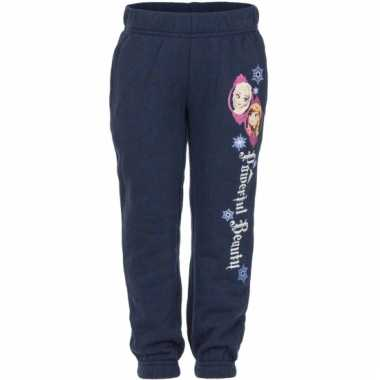 Navy frozen joggingbroek anna en elsa