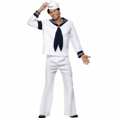 Navy matroos carnavalskleding heren