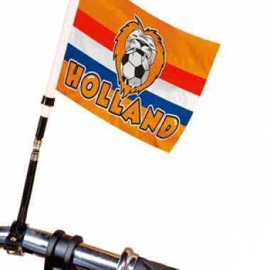 Nederland voetbal fietsvlag