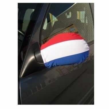Nederlandse vlag hoesje autospiegel