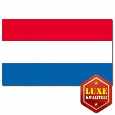 Nederlandse vlaggen 150x225 cm