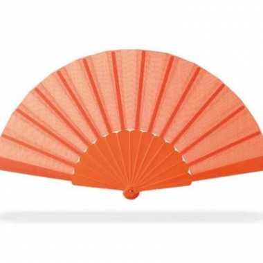 Nederlandse waaier oranje