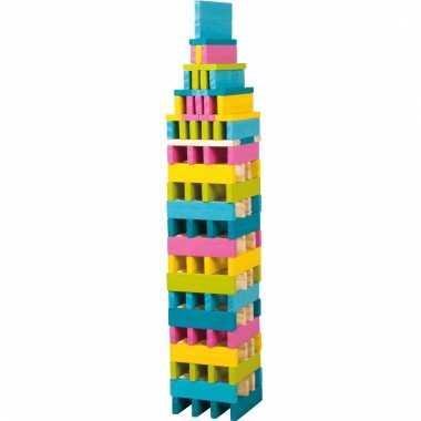 Neon bouwblokken voor meisjes 150 stuks