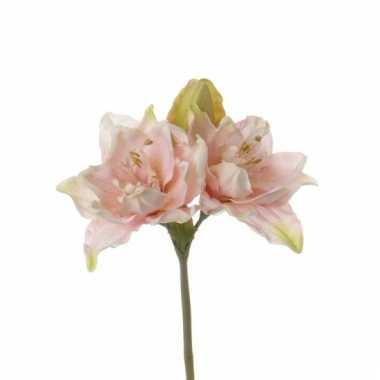 Nep amaryllis roze 41 cm