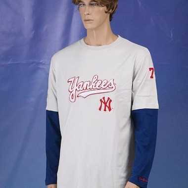 New york yankees t-shirt lange mouw