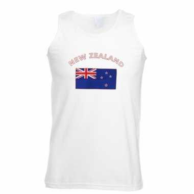 Nieuw-zeelandse vlaggen tanktop/ t-shirt
