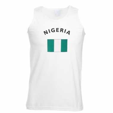 Nigeria vlaggen tanktop / t-shirt