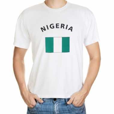 Nigeriaanse vlag t- shirts