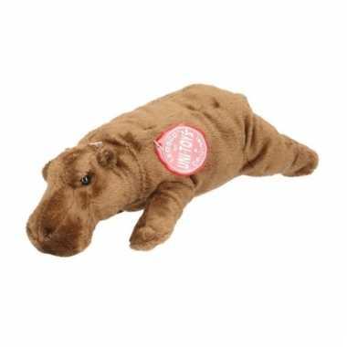 Nijlpaarden knuffel 25 cm