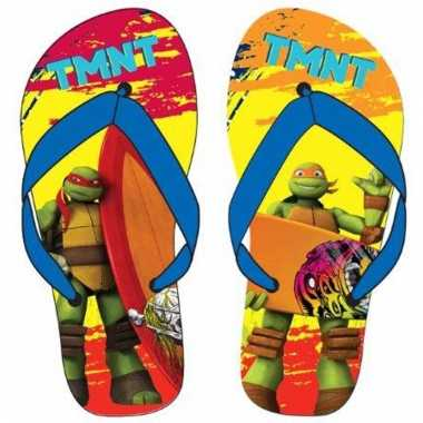 Ninja turtles kinder slippers raphael en michaelangelo