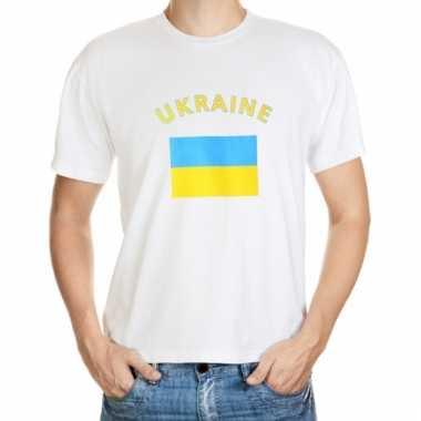 Oekraiense vlaggen t-shirts