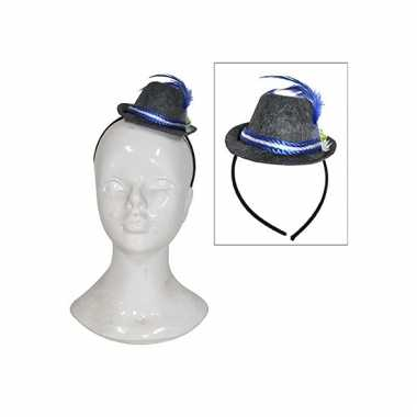 Oktoberfest haarband met hoedje
