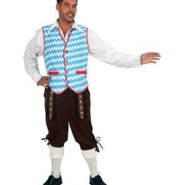 Oktoberfest kleding giletje