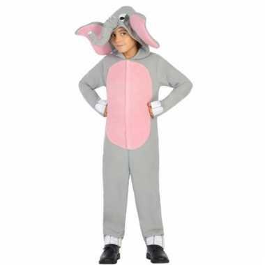 Olifanten topsy verkleedkostuum voor jongens/meisjes