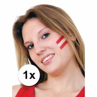 Oostenrijkse supporters tattoo