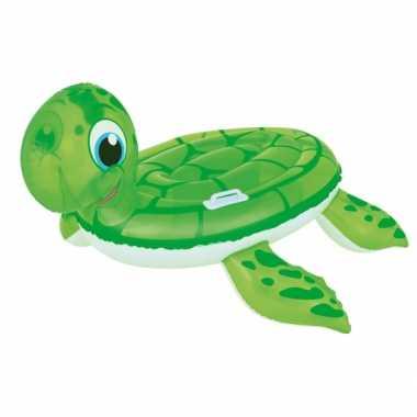 Opblaas schildpad 140 x 140 cm