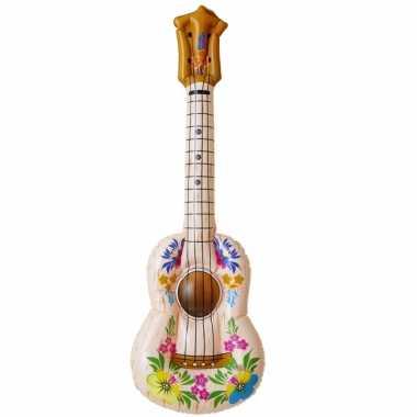 Opblaasbaar hawaii gitaar