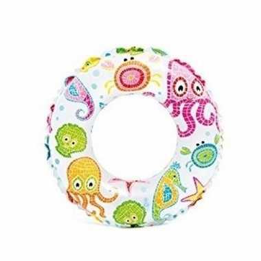 Opblaasband kinderen zeedieren 51 cm