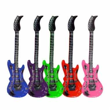 Opblaasbare elektrische gitaar 55 cm