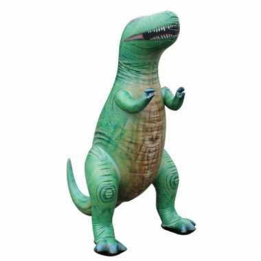 Opblaasbare groene t-rex 94 cm