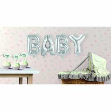 Opblaasbare letters baby
