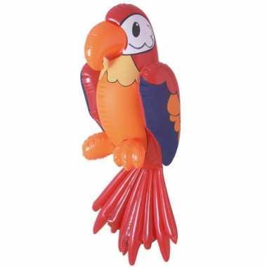 Opblaasbare vogel 60 cm