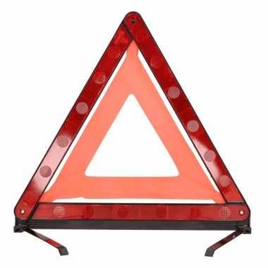 Opvouwbare gevaren driehoek