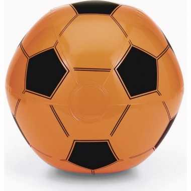 Oranje fan voetbal strandbal