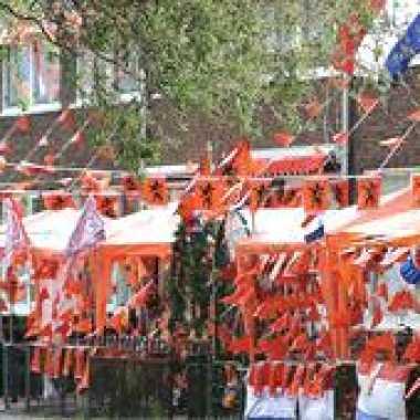 Oranje feestartikelen pakket klein