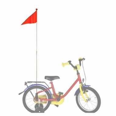 Oranje fietsvlaggetje