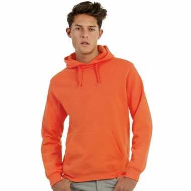 Oranje hooded sweater