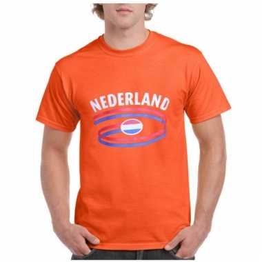 Oranje nederland supporters shirt