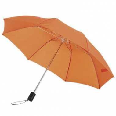 Oranje paraplu in hoes 85 cm