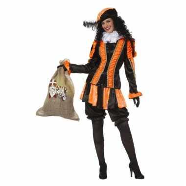 Oranje pieten pak voor dames