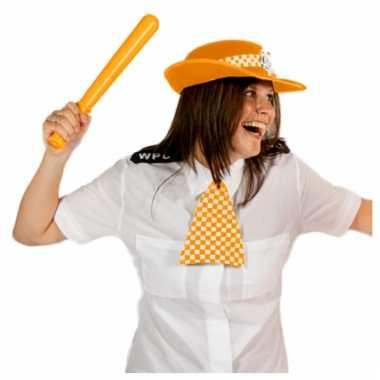 Oranje politie setje engelse stijl