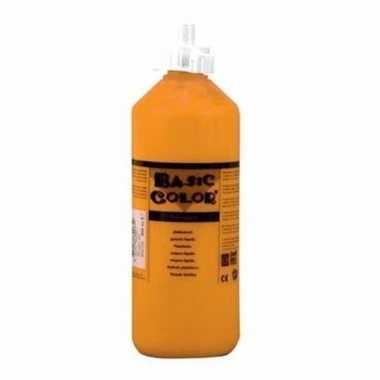 Oranje schoolverf in tube 500 ml