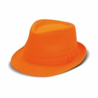 Oranje supporters hoeden