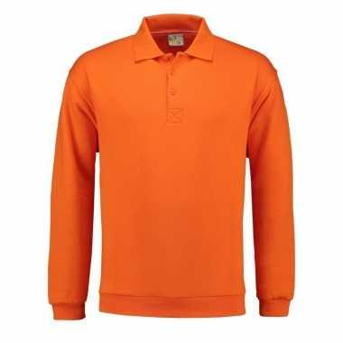 Oranje sweaters voor mannen