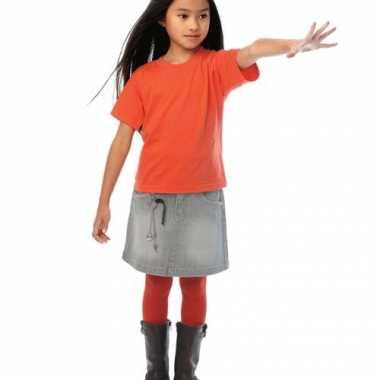 Oranje t-shirt voor kinderen