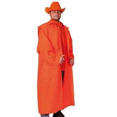 Oranje verkleed jas