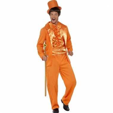 Oranje verkleedpak voor heren