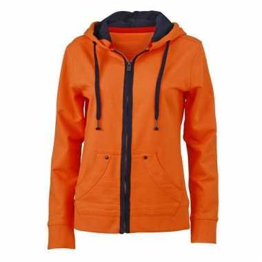 Oranje vestje voor dames