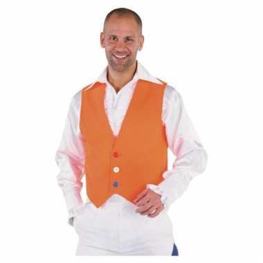 Oranje vestje voor heren