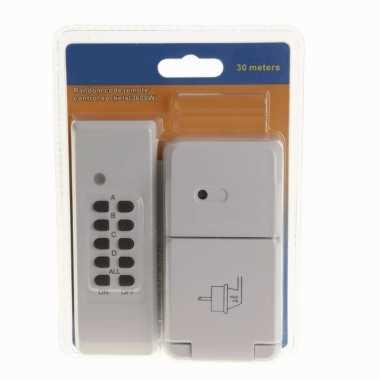 Outdoor contactdoos met afstandsbediening
